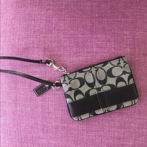 Coach wristlet - Brand new with tags!